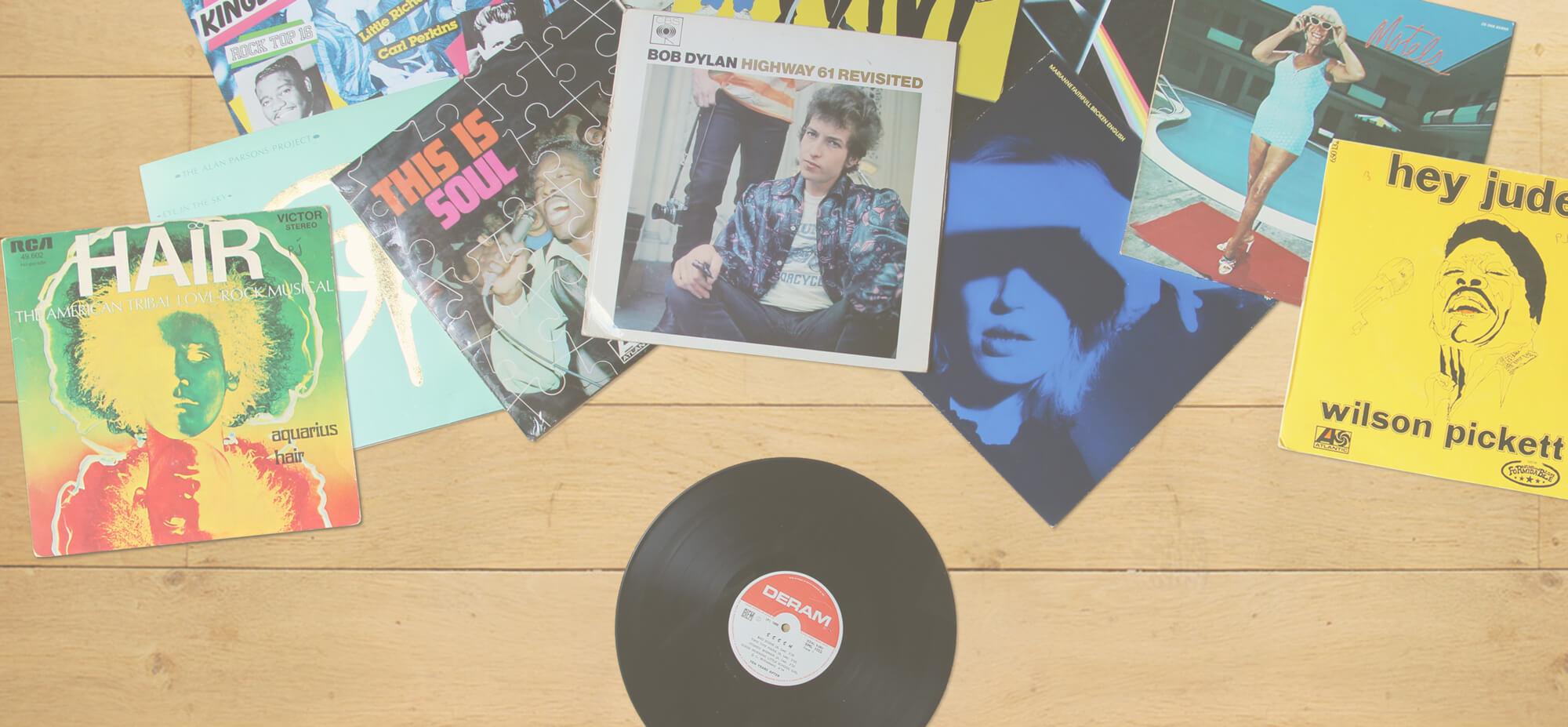 les collections de disques vinyles d'ACP