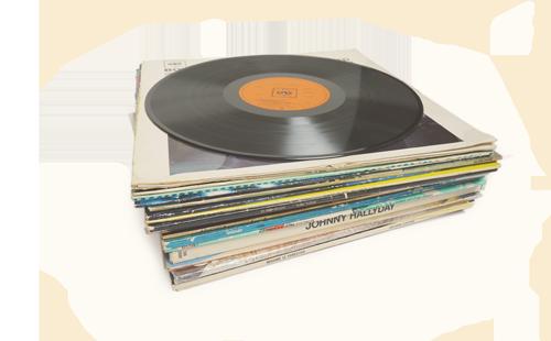 collectionneurs de disques-vinyles