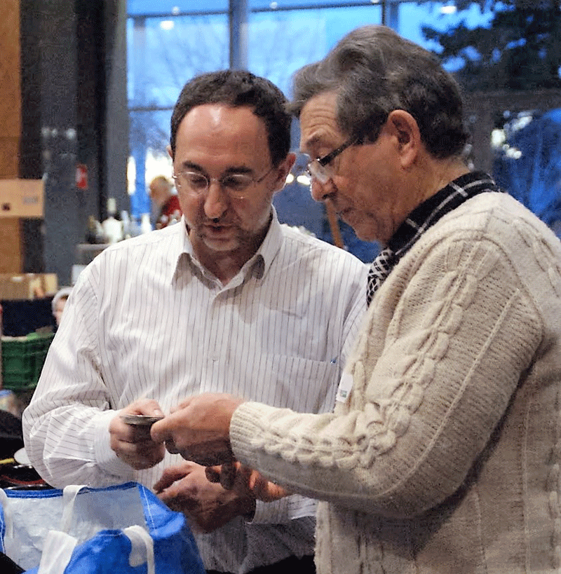 Bourse de St Benoit 2014 - Daniel et Eric