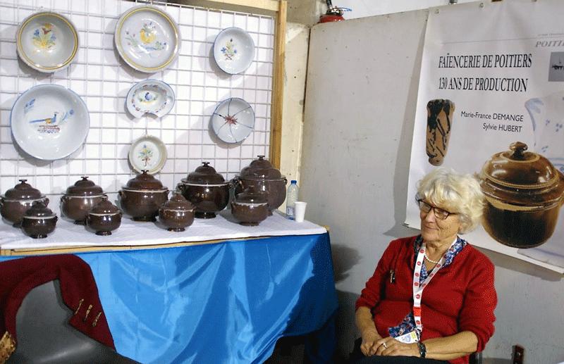Collection Passion de Poitiers 2014 - expo de faïence