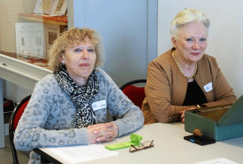 Bourse de St Benoit 2015 - Marie et Agnes