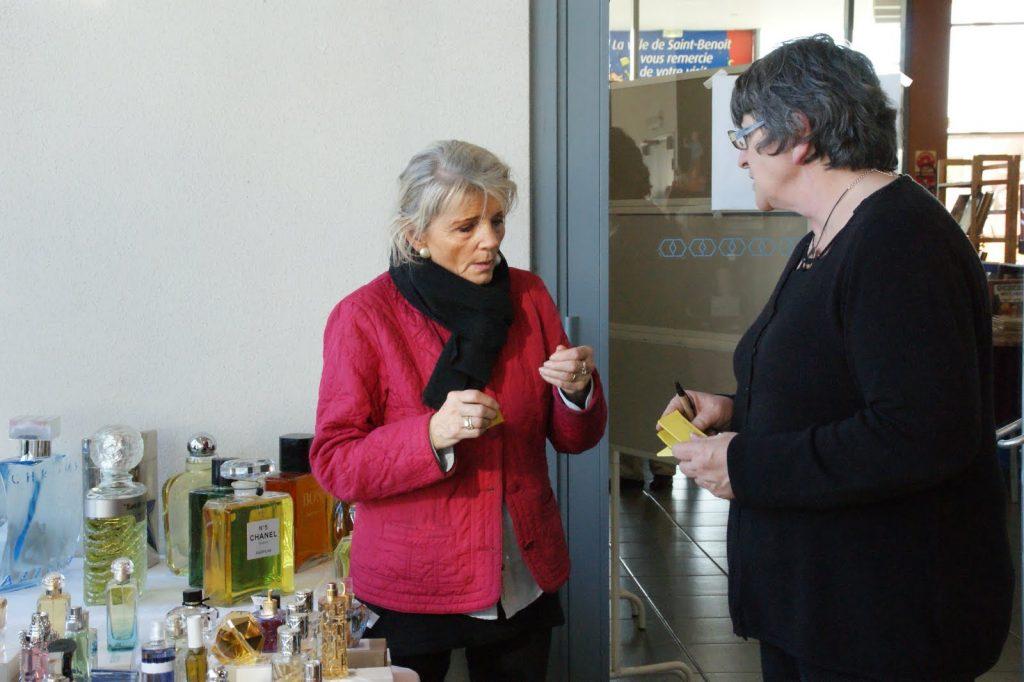 Saint-Benoit 2014 - Jacqueline et Annie