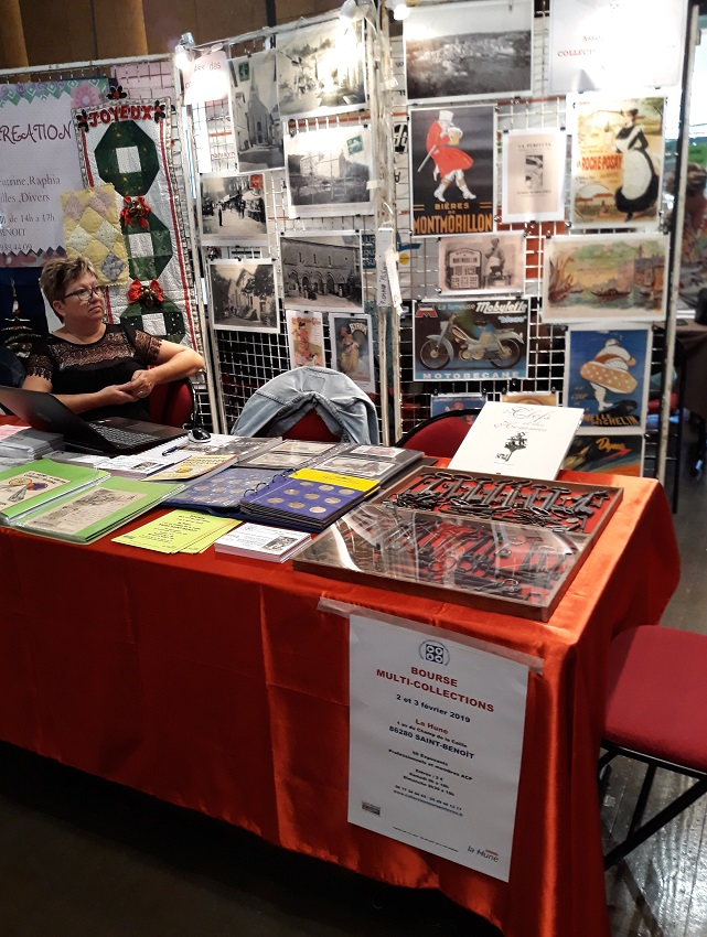 forum des associations St Benoît 2018 - stand ACP