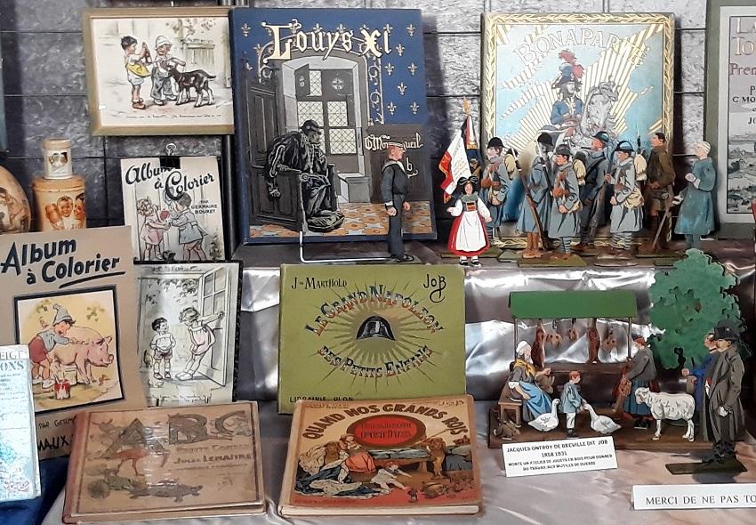 salon Collection-Passion 2018 - expo anciens livres d'enfants